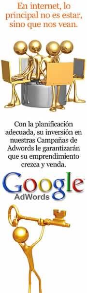 Publicidad en internet con Google Adwords. Hacer publicidad en internet con Google Adwords. Google Adwords para PYMES. Anuncios en Google para los Buscadores.